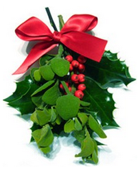 Mistletoe, example of green