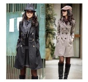 coat-winter-coat-trench-coat-women-jacket-women-s-outerwear-black-kakhi-yellow-cotton-fashion