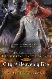City of Heavenly Fire  by: Cassandra Clare NUMBER ONE